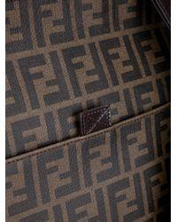 Fendi - Brown Monogram Shoulder Bag for Men - Lyst