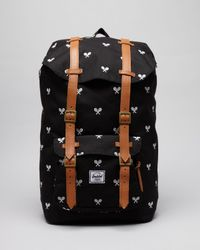 Herschel Supply Co. Black Little America Invitational Backpack for men