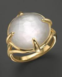 Ippolita - Metallic Ippolita 18k Gold Gelato Stone Ring in Mother of Pearl Doublet - Lyst