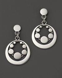 John Hardy - Metallic Dot Sterling Silver Round Drop Earrings - Lyst
