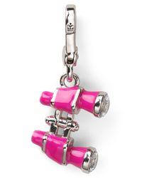 Juicy Couture Metallic Binoculars Charm