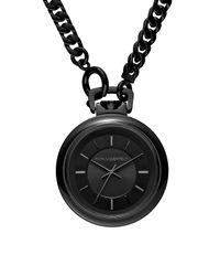 Karl Lagerfeld Black Karl Chain Watch 40mm for men