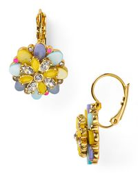 kate spade new york - Multicolor Bungalow Bouquet Leverback Earrings - Lyst