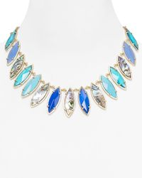 Kendra Scott | Blue Nalin Necklace 18 | Lyst