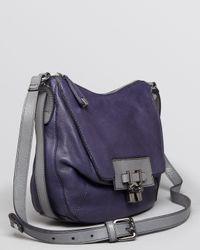 Kooba Blue Shoulder Bag Gabby Slouchy Long