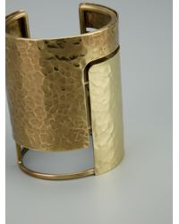 Lanvin Metallic Oracle Cuff