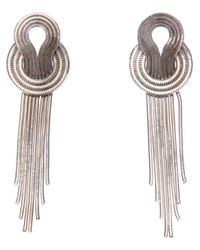 Lara Bohinc | Metallic Saturn Earrings | Lyst