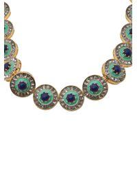 Lele Sadoughi Blue Sundial Necklace