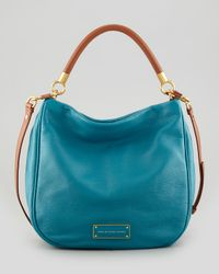 Marc By Marc Jacobs Blue Too Hot To Handle Hobo Bag