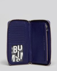 Marc By Marc Jacobs Gray Wallet Classic Q Vertical Zippy
