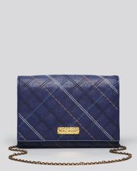Marc Jacobs Blue Crossbody Multi Stitching All in One