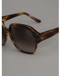Marni Brown Tortoiseshell Sunglasses