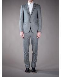 Moschino | Gray Suit Blazer for Men | Lyst