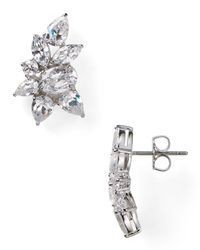 Nadri | Metallic New Basics Multi Cluster Earrings | Lyst