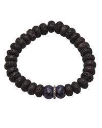 Ocnarf Sairutsa - Blue Diamond and Sapphire Bracelet - Lyst