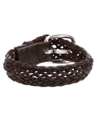 Orciani | Brown Vintage Woven Bracelet for Men | Lyst