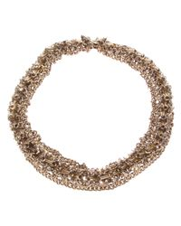Paco Rabanne | Metallic Plate Link Necklace | Lyst