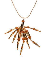 Paco Rabanne - Metallic Paco Rabanne Cluster Necklace - Lyst
