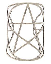 Pamela Love - Metallic Mini Pentagram Cuff - Lyst