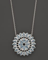 Paul Morelli | Applique Pendant with Blue Topaz and Black Spinel 18 | Lyst