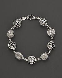 Paul Morelli - Metallic Large Granulated Inline Meditation Bell Bracelet - Lyst