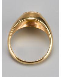 RebekkaRebekka | Metallic The Oval Ring | Lyst