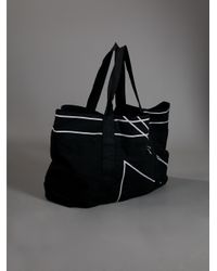 Rick Owens Black Travel Bag for men