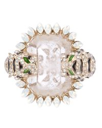 Roberto Cavalli | Pink Cocktail Ring | Lyst