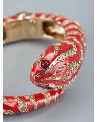 Roberto Cavalli - Multicolor Snake Bracelet - Lyst