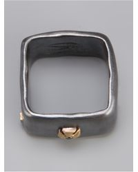 Rosa Maria Black Juda Ring