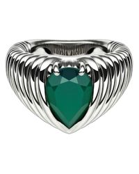 Shaun Leane | Green Bound Onyx Ring | Lyst