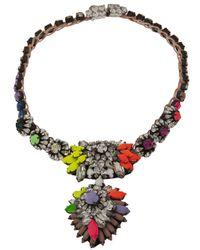 Shourouk - Multicolor Zambia Necklace - Lyst