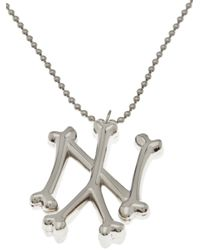 SSUR - Metallic Ny Bones Necklace for Men - Lyst