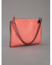 Stella McCartney Pink Falabella Zip Pouch Wallet