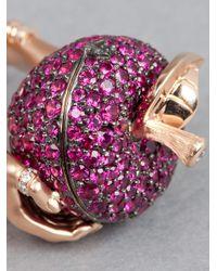 Stephen Webster   Pink Large Poison Apple Ring   Lyst
