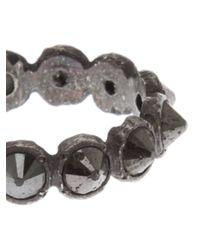 Stones Of Character - Black Diamond Spike Ring for Men - Lyst