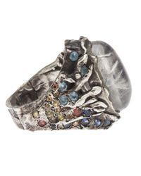 Stones Of Character | Metallic Ring for Men | Lyst