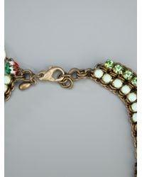 Sveva Collection Green Ankorvat Necklace