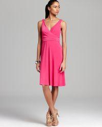 T Tahari Pink Kendall Dress