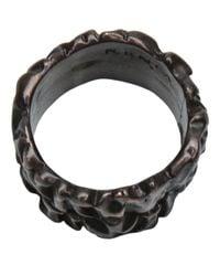 Tamara Akcay - Metallic Bronze Wide Ring for Men - Lyst