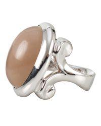 Tamara Comolli White Talisman Moonstone Ring