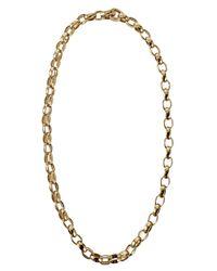 Tamara Comolli - Yellow Miniroulette Chain Necklace - Lyst