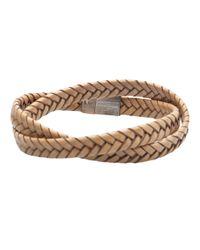 Tateossian - Light Brown Bracelet for Men - Lyst