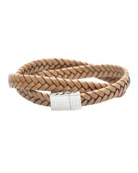 Tateossian - Light Brown Bracelet for Men - Lyst