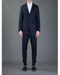 Saucony - Blue Wool Suit for Men - Lyst