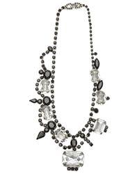 Tom Binns Metallic Crystal Necklace