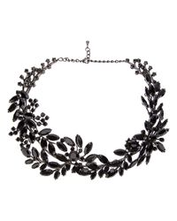 Tom Binns | Black Secret Garden Necklace | Lyst