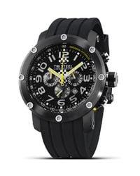 TW Steel Black Grandeur Tech Watch, 48Mm for men