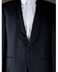 Valentino | Blue Silk Tuxedo Jacket for Men | Lyst