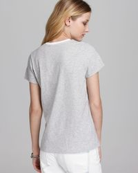 Vince White Tee Color Block